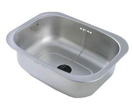 Silverstar Stainless Steel Dishpan Washing-up Bowl Bucket Basket Tub (Hole Type)