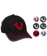 True Religion Men's Cotton HorseShoe Adjustable Baseball Trucker Hat Cap... - $39.99