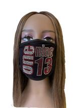 Delta Sigma Theta 1913 Rhinestone Bling Face Mask Red  Lot of 16 - $221.76