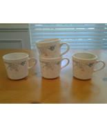 Corelle Corning  Spymphony Pattern Mugs Lot of 4 - $13.99