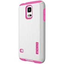 Incipio DualPro SHINE Case for Samsung Galaxy S5 - White/Pink - SA-528-WHT - Dua - $16.85