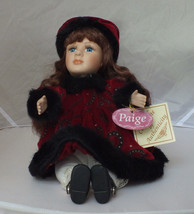 """DAN DEE Collectible Musical Porcelain Doll Soft Expressions Musical 13"""" ... - $12.99"""