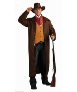 WILD WESTERN GUNFIGHTER ADULT HALLOWEEN COSTUME SIZE STANDARD FITS UP TO SIZE 42 - $41.96
