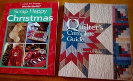 Leisure Arts Quilter's Complete Guide Marianne Fons & Liz Porter lot 2 b... - $10.80