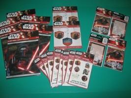 STAR WARS Party Supplies Invitations Decorations Treat Bag Temp Tattoos ... - $12.86