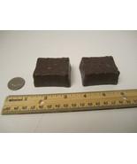 2 Brownies CDI Fake Food Pretend Play Fun Kitchen Stage Prop - $10.00