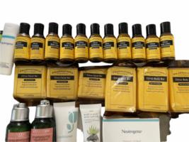 Lot Travel Sample L'Occitane Aquaphor Eucerin Lotion Soap Shampoo Pharmacopia image 4