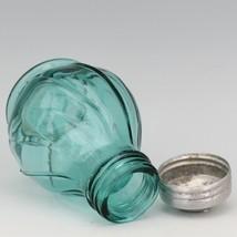 Jeanette Ultramarine Depression Glass Swirl Single Shaker - Correct Lid for Salt image 2
