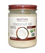 Nutiva, Organic Superfood, Coconut Oil, Virgin, 14 fl oz (414 ml) - $19.00
