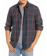 Levi's Men's Classic Barstow Western Slim Fit Plaid Button-Up Casual Dre... - $39.95