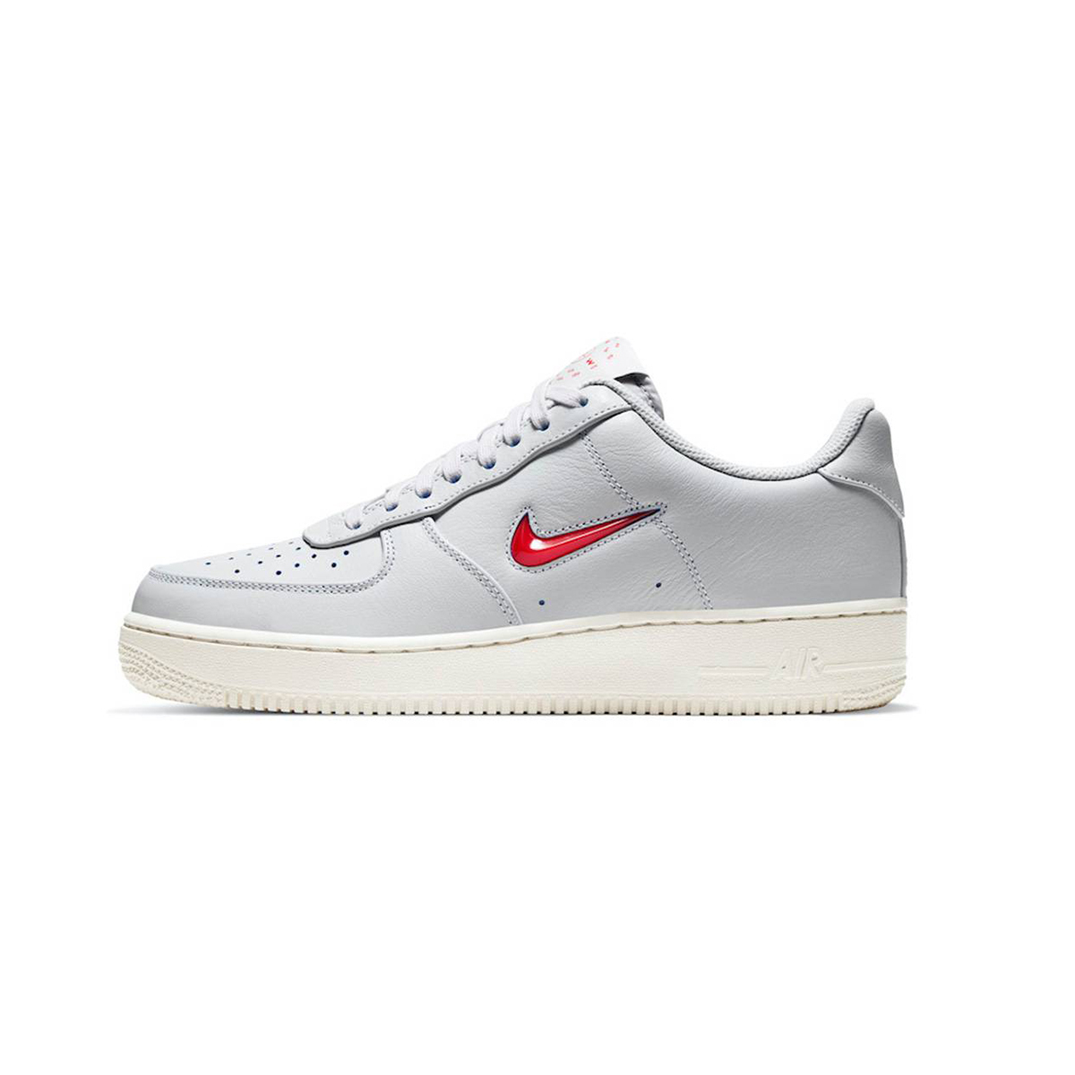 Primary image for Nike Air Force 1 '07 (Vast Grey/ Challenge Red/ Home and Away) Men 8-13