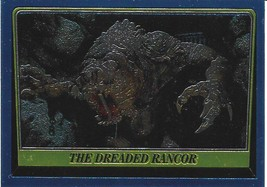 1999 Topps Star Wars Chrome Archives #66 The Dreaded Rancor > Beast - $1.49
