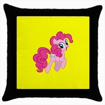 Throw pillow case pony horse cute kawaii baby ponytale room ponies sweet... - $19.50