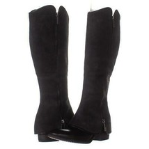 Donald J Pliner Devi7 Knee High Boots  254, Black/Black, 8 US - $131.51