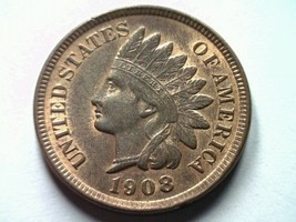 1908 Indian Cent Penny Choice Uncirculated / Gem Ch. UNC./ Gem Red / Brown - $99.00