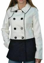 Large Women's Coat Steve Madden Color Block Peacoat Jacket