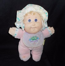 VINTAGE 1987 CABBAGE PATCH KIDS BABYLAND GIRL RATTLE STUFFED ANIMAL PLUS... - $52.40