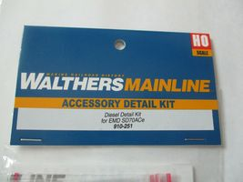 Walthers Mainline #910-251 EMD SD70ACe Diesel Detailing Kit  HO Scale image 3