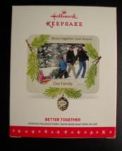 Hallmark Keepsake Christmas Ornament 2016 Better Together Photo Holder B... - $19.99
