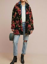 Anthropologie Winter Roses Coat by If By Sea Sz XL - NWT image 4