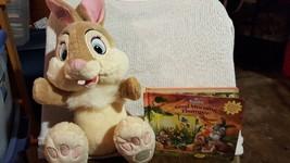 Walt Disney's Bambi Thumper Gift Set, 16 inch Thumper, Disney Bunnies Books - $8.49