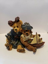 1998 Boyds Bears & Friends Elvira & Chauncey Fitzbruin  Shipmates Style ... - $12.86