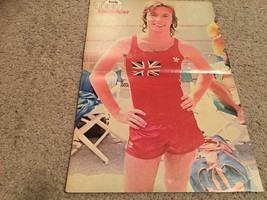 Andy Gibb Suzanne Somers John Ritter teen magazine poster clipping red shorts