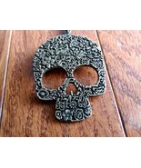 Patterned Skull Necklace - New - $5.99