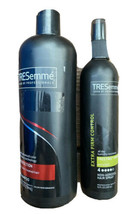 TRESemme Color Revitalize Protection Shampoo Extra Firm Hairspray Lot 25 oz 10oz - $22.49