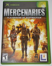 Xbox - MERCENARIES - PLAYGROUND OF DESTRUCTION (Complete with Manual) - $8.00