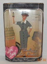 Barbie I LOVE LUCY Lucille Ball Doll LUCY DOES A TV COMMERCIAL - $46.75