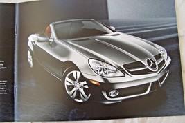 2010 Mercedes slk-Class slk300 slk350 owners sales brochure catalog new original - $10.88