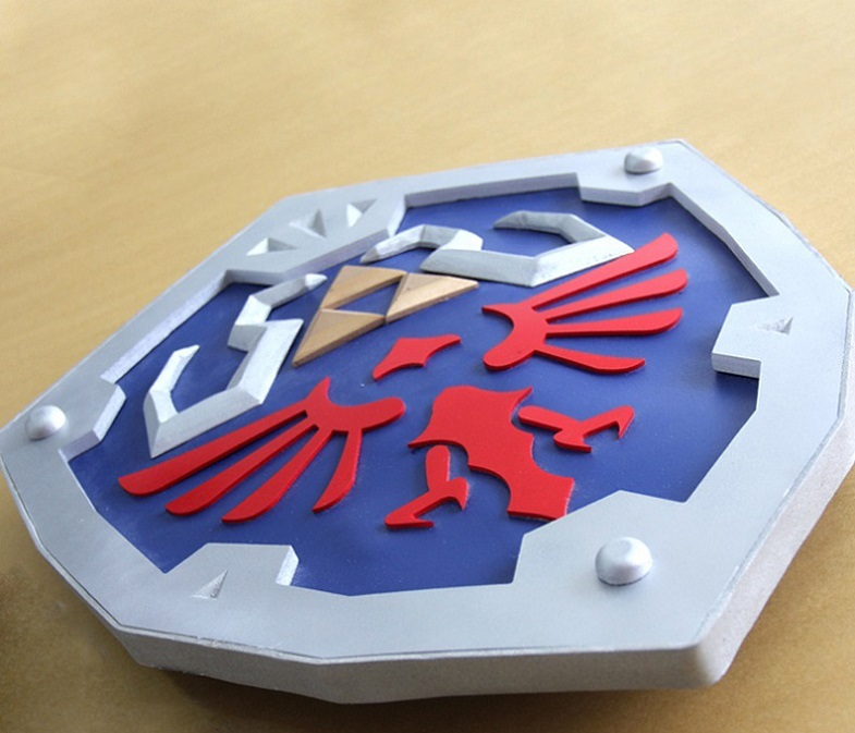 Primary image for The Legend of Zelda: Breath of the Wild Hylian Shield Cosplay Prop for Sale