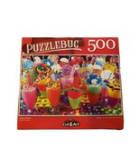 """Puzzlebug 500 Piece Puzzle Sugary Shakes18.25""""  X 11"""" New COLORFUL - $6.23"""
