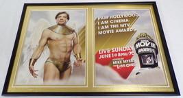 Mike Myers 2008 MTV Movie Awards Framed 12x18 ORIGINAL Advertising Display - $65.09