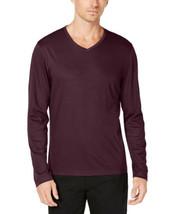 Alfani Men's V-Neck T-Shirt (Port, XXL) - $31.23