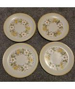 4 Hearthside Garden Festival Prairie Flowers Stoneware 10.5 Dinner Plate... - $27.99