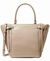 Michael Kors Amelia Medium Top Zip Tote Handbag -  Truffle/Gold #87 - $109.99