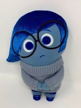 Disney Store Pixar Inside Out Sadness Plush Doll Mixed Emotion - $8.00