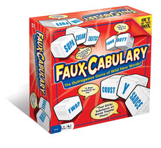 Faux-Cabulary Game: The Outrageous Game of Wild New Words Out of the Box - $29.00