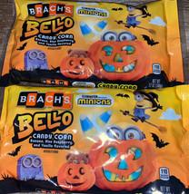 Brach's Minions ~ Bello Candy Corn Fall Candy 2-Bags 12 oz. ~ Expires 06/2022 - $23.36