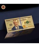 WR Novelty Donald Trump Gold Banknote One Million Dollar Bill 2016 US  P... - $4.28