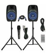 """Pair Alphasonik All-in-one 8"""" Powered 800W PRO DJ Amplified Loud Speaker... - $346.42"""