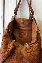 Intreccio 79 handmade woven leather bag  image 13