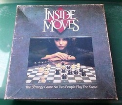 ~~ Inside Moves Strategy Board Game Parker Brothers COMPLETE ~~ - $10.00