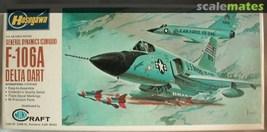 Hasegawa 1/72 scale General Dynamics F-106A Delta Dart Model Kit JS-054 ... - $18.88