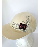 DC Shoes Hat with DC logo on the top and side ivory color Flexfit for co... - $7.69