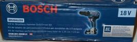 BOSCH GSB18V 490B12 18V Brushless Hammer Drill Driver Kit with Battery image 2