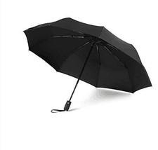 Automatic Travel Umbrella Esonmus Compact Umbrella Foldable 9 Nerve Resi... - $29.61