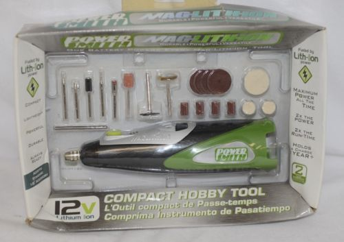Power Smith MLHT12C Compact Hobby Tool 20 Piece Accessory Set